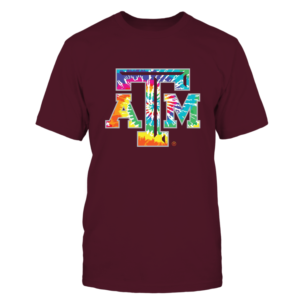 Texas A&M Aggies - Tie-Dye Color Logo Front picture