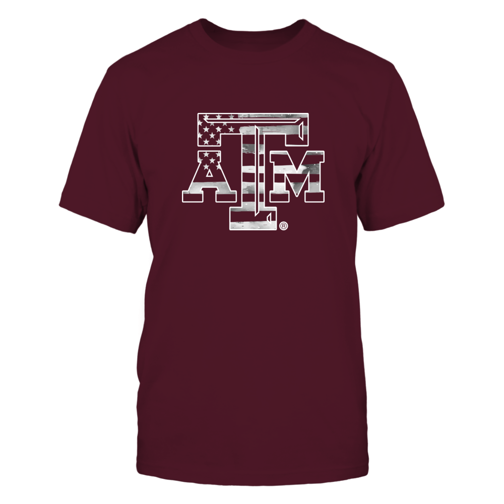 Texas A&M Aggies - Logo Nation Galaxy Flag Front picture