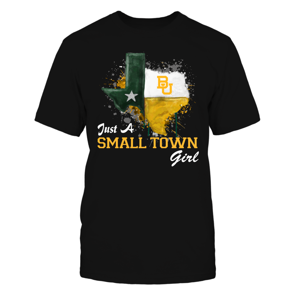 Baylor Bears - Small Town Girl - Color Drop State Map Front picture