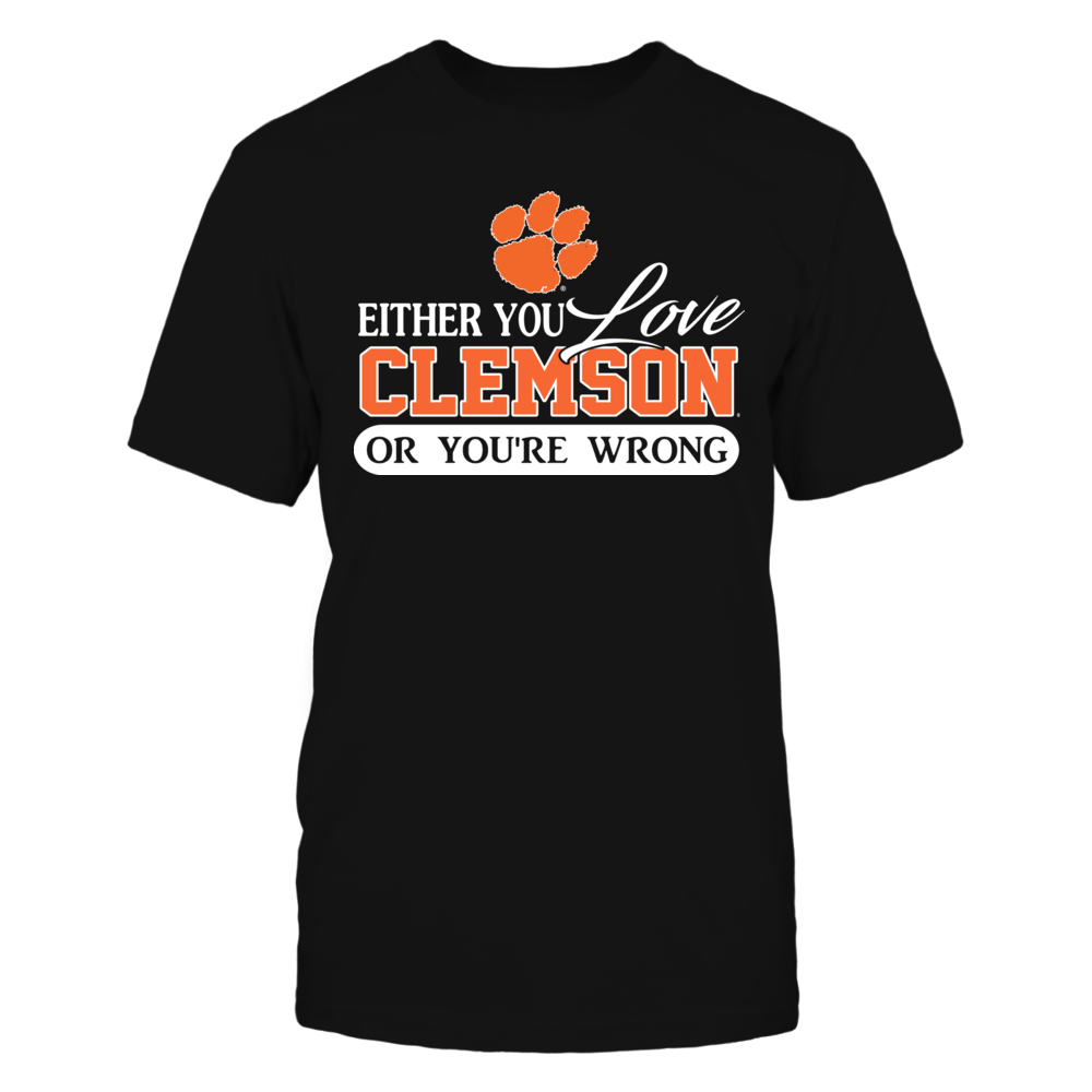 Either you love Clemson Front picture