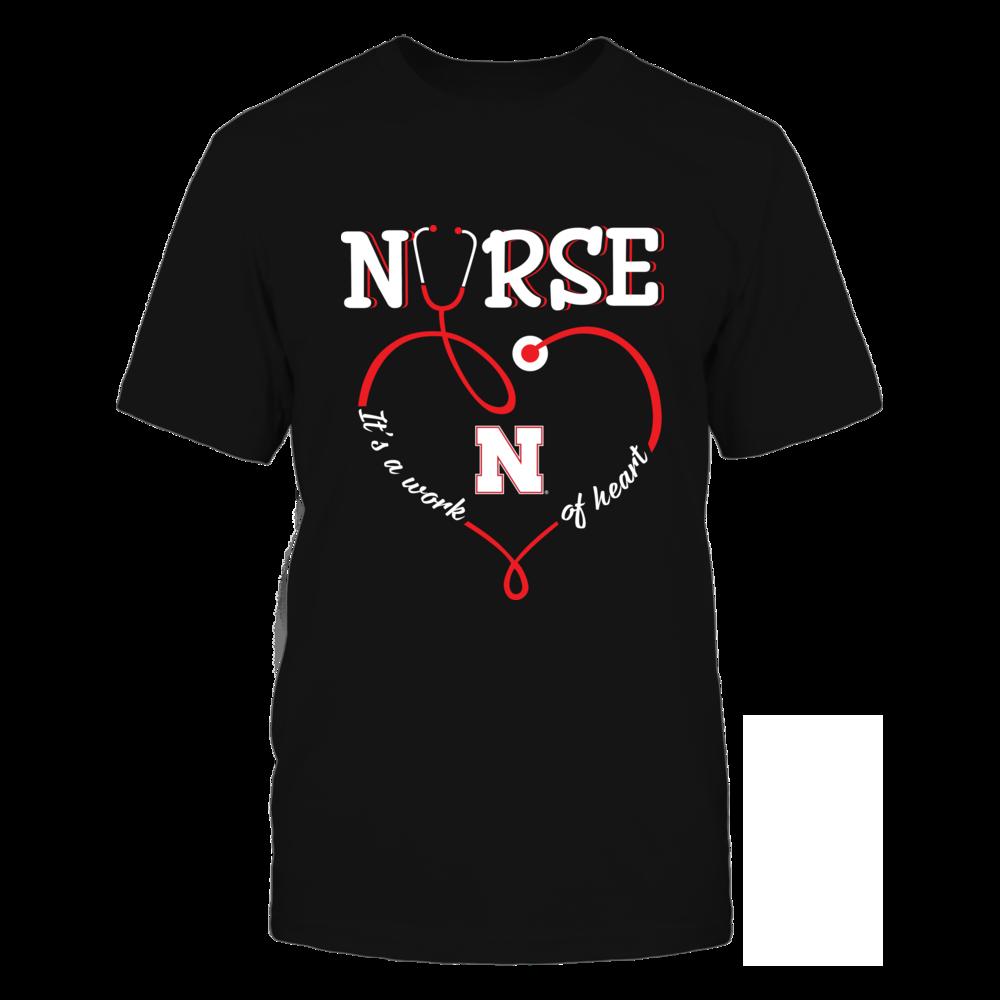 Nebraska Cornhuskers - Nurse - It's A Work Of Heart Front picture