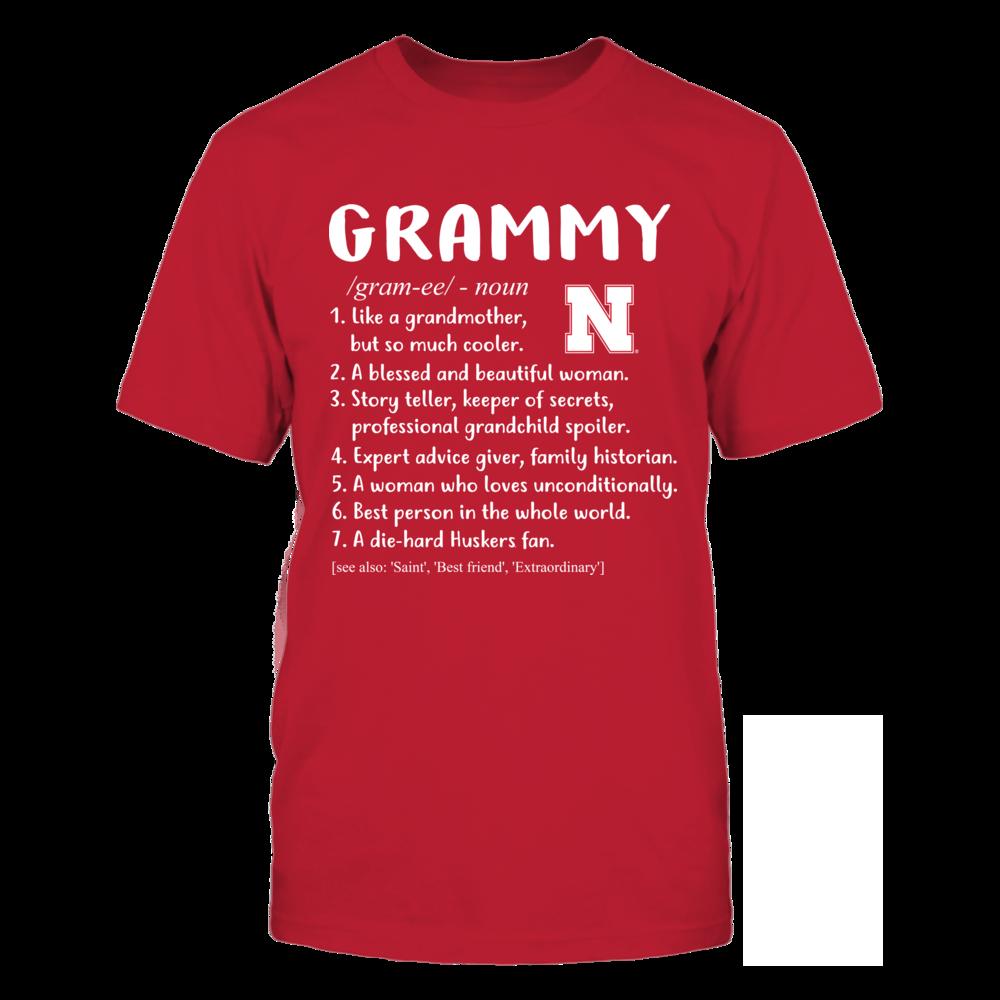 Nebraska Cornhuskers - Grammy Definition Front picture