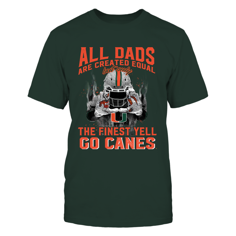 Miami Hurricanes - The Finest - Father's Day Front picture