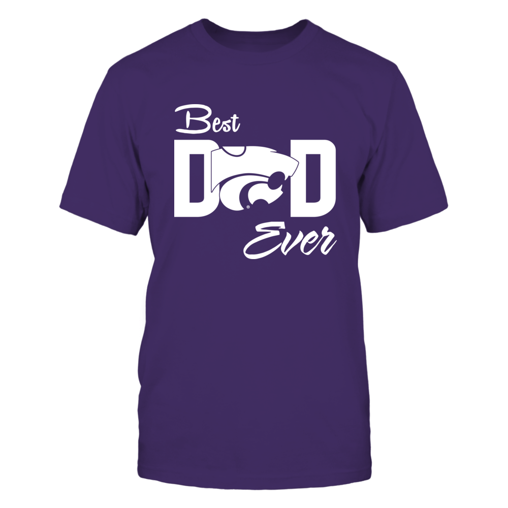 Kansas State Wildcats - Best Freakin' Dad Ever Front picture