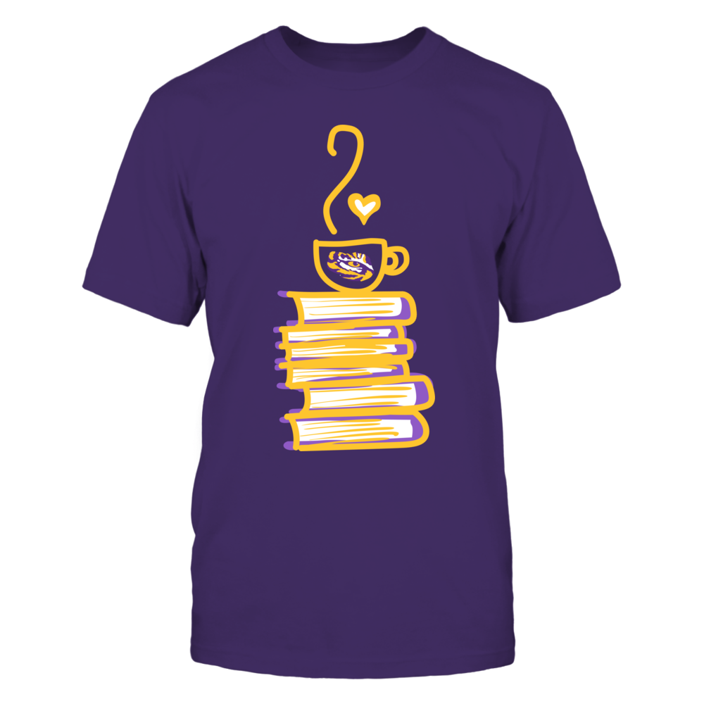 LSU Tigers - Drawing Books And Coffee Front picture
