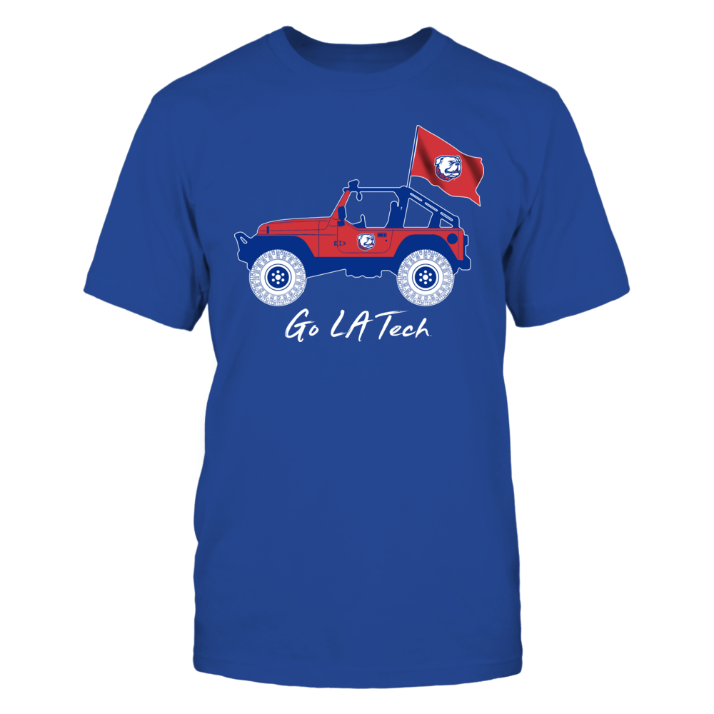 Louisiana Tech Bulldogs - Jeep - Jeep Car Front picture