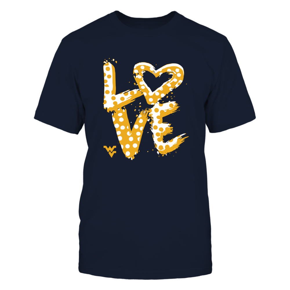 West Virginia Mountaineers - Love - Drawing Front picture