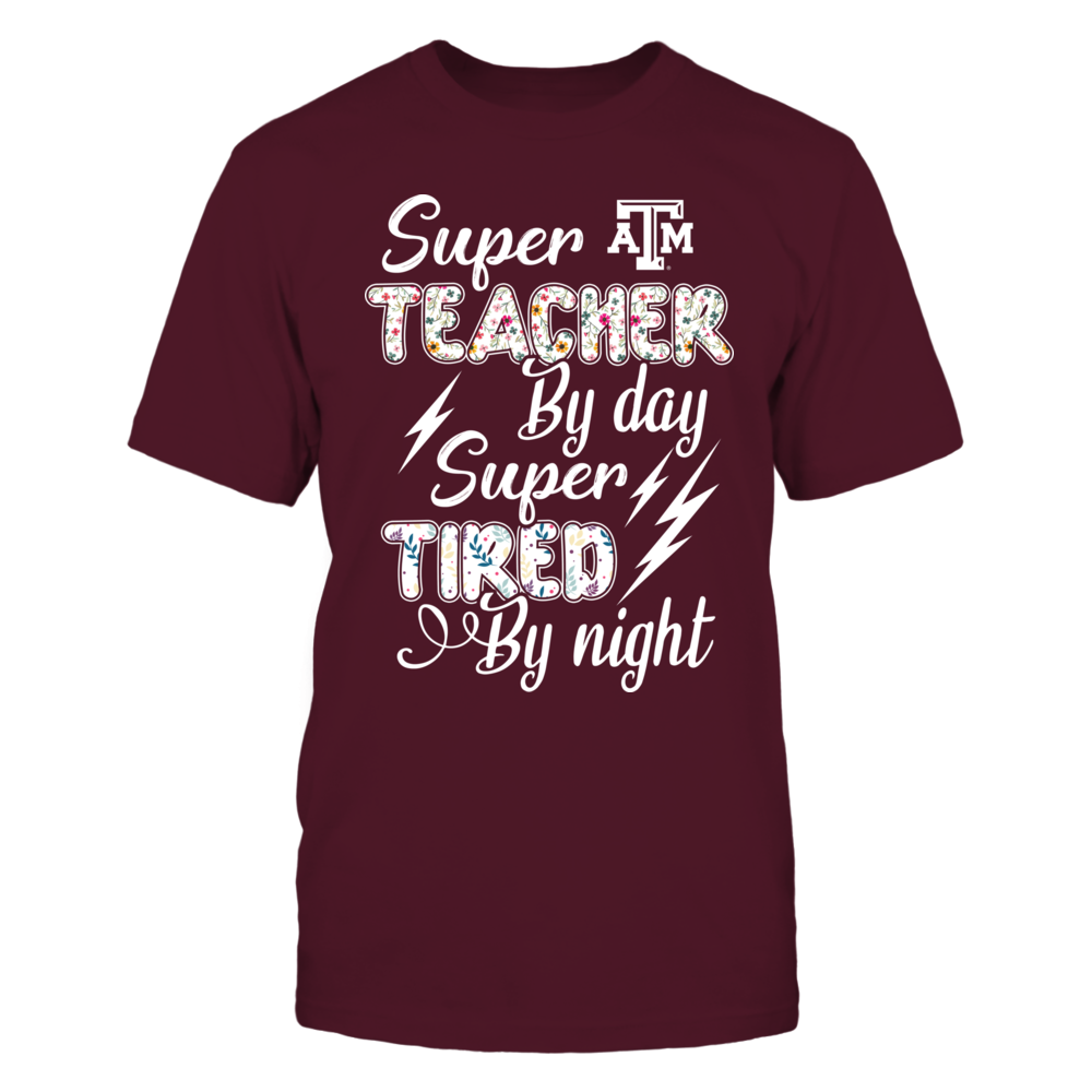 Texas A&M Aggies - By Day By Night - Super Teacher Front picture