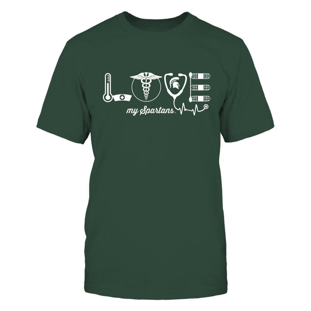 Michigan State Spartans - Nurse - Love Front picture