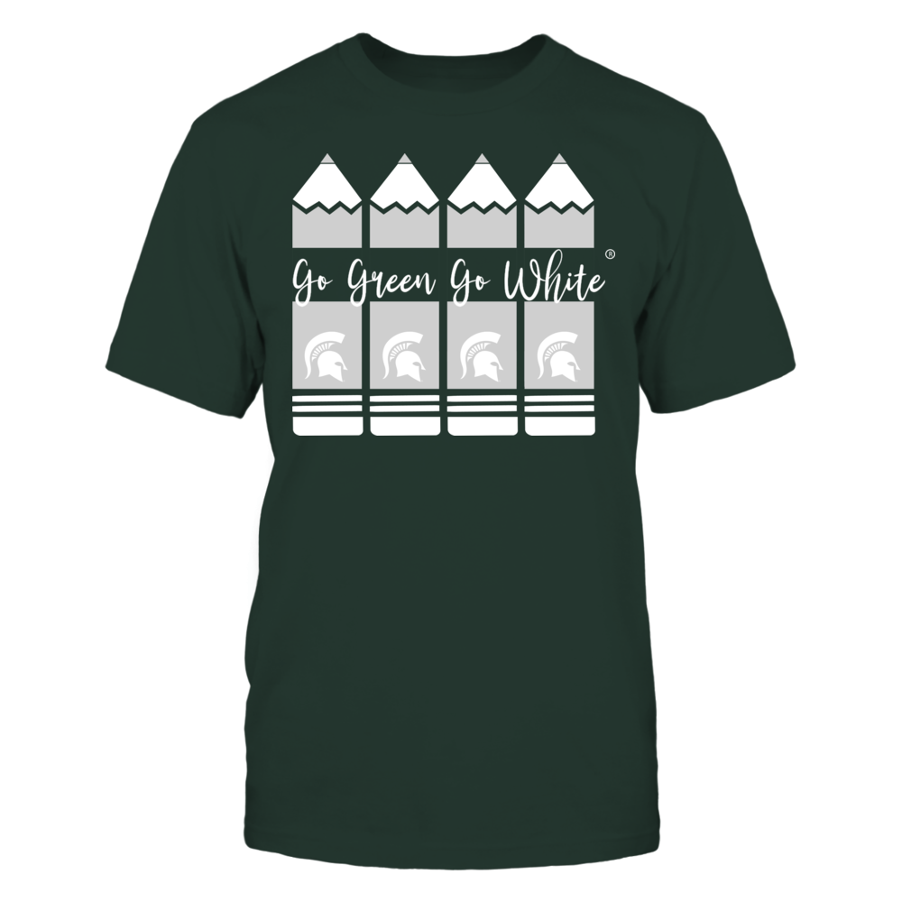 Michigan State Spartans - Teacher Pencils Front picture