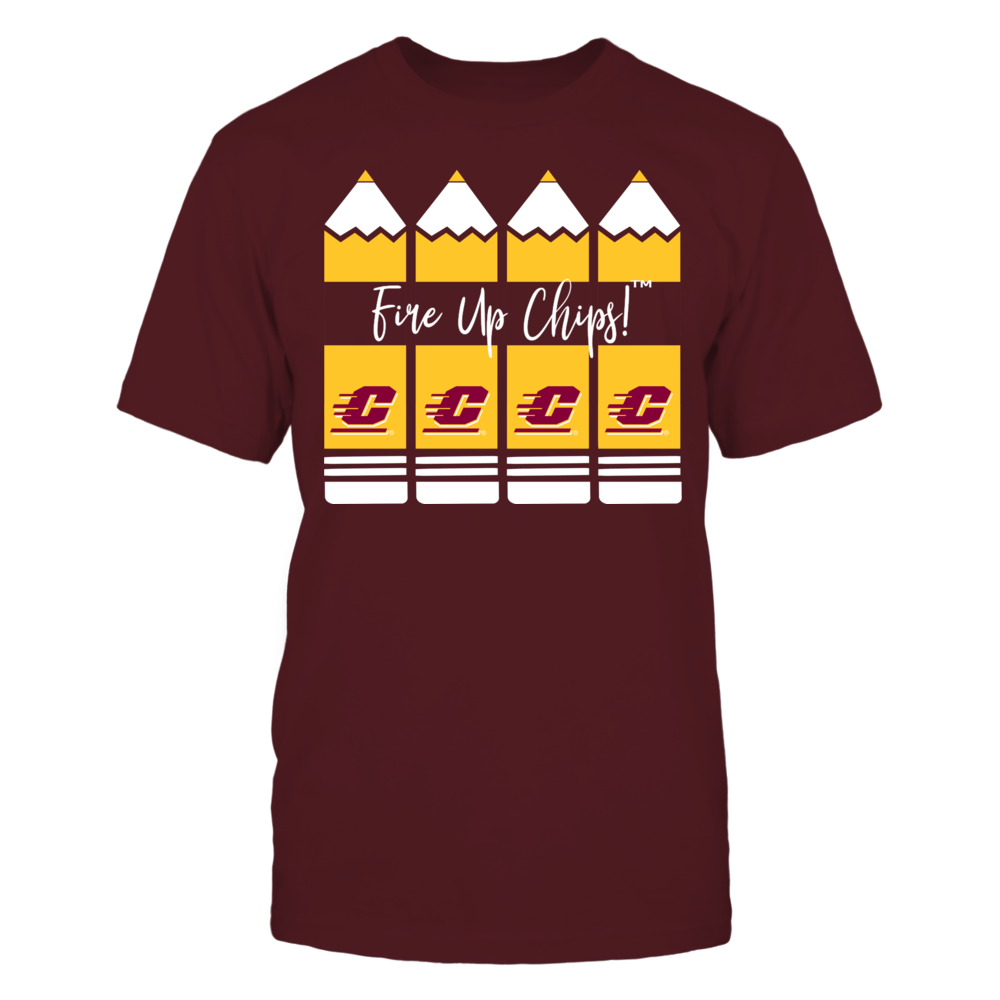 Central Michigan Chippewas - Teacher Pencils Front picture