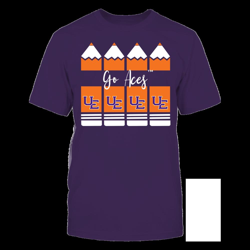 Evansville Purple Aces - Teacher Pencils Front picture