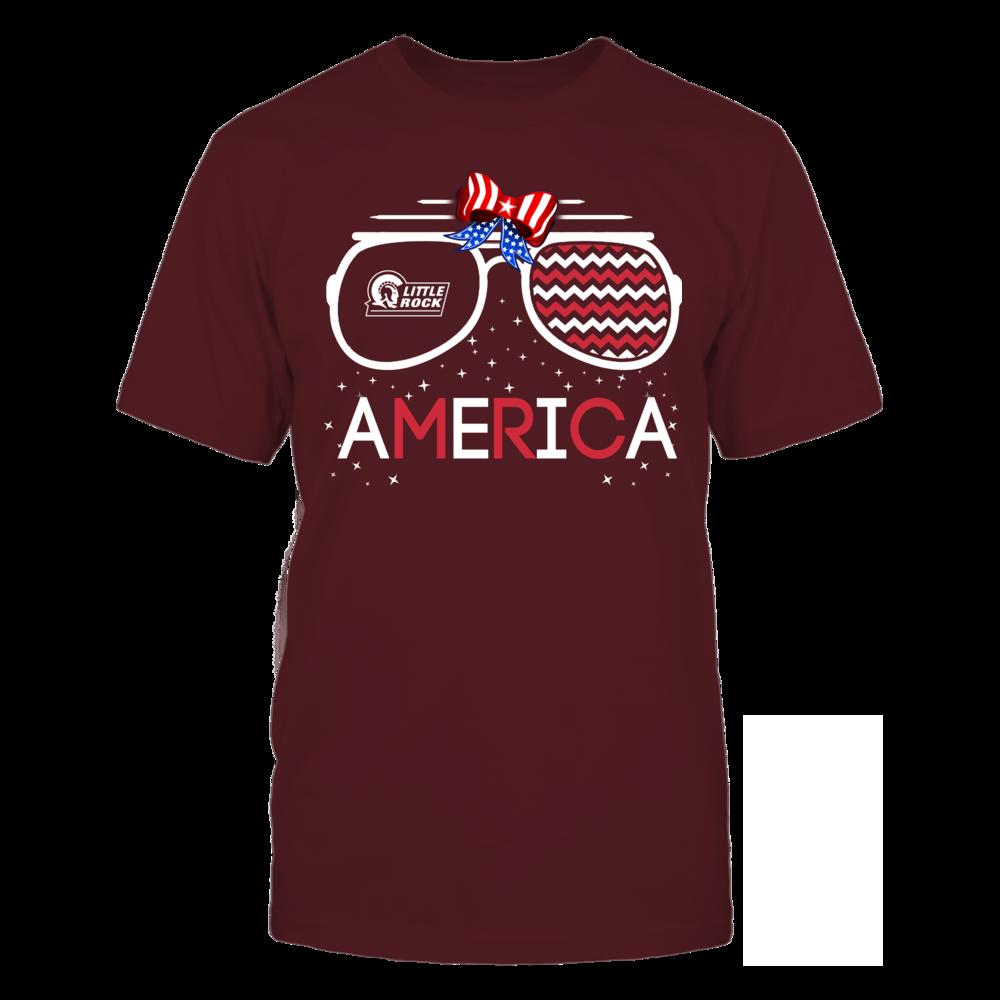 Arkansas Little Rock Trojans - American Glasses Front picture