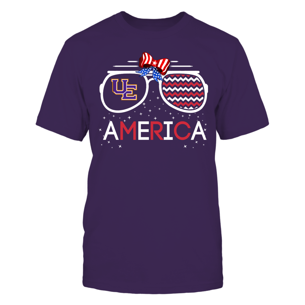Evansville Purple Aces - American Glasses Front picture