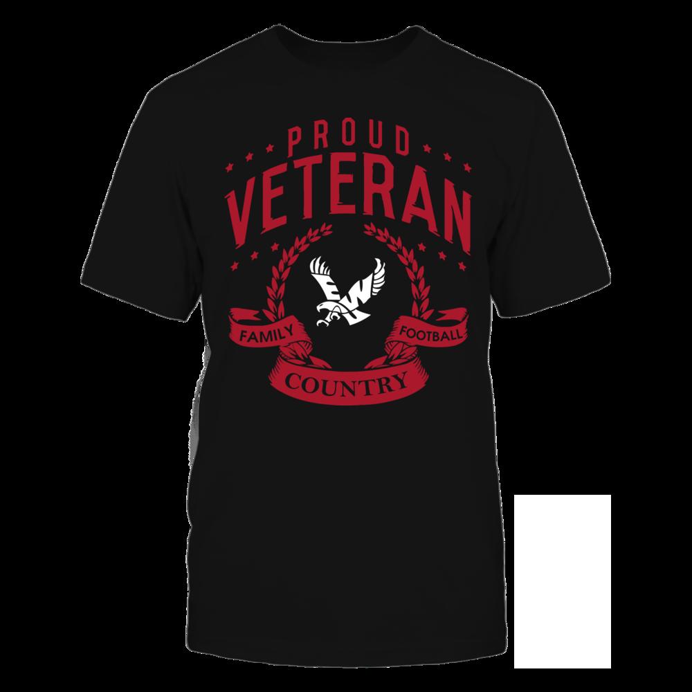 Eastern Washington Eagles - Proud Veteran Front picture