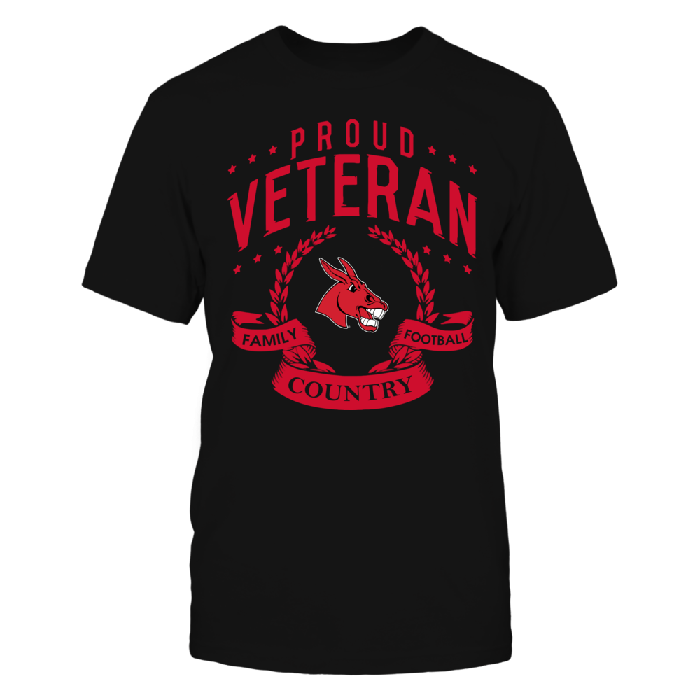 Central Missouri Mules - Proud Veteran Front picture