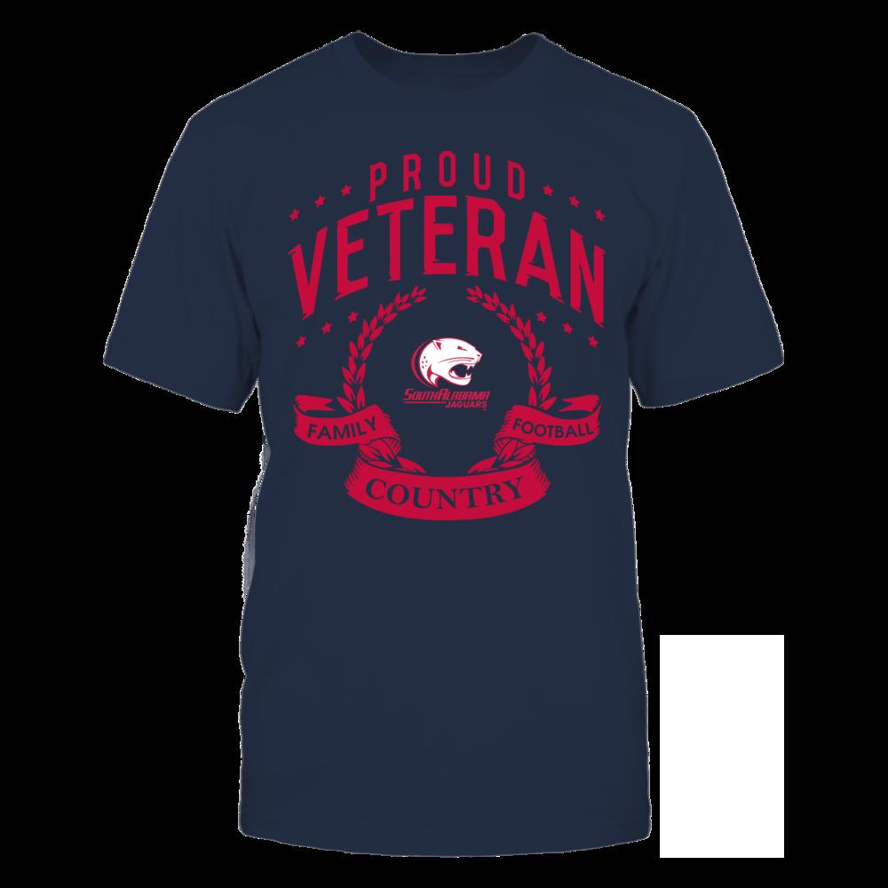 South Alabama Jaguars - Proud Veteran Front picture