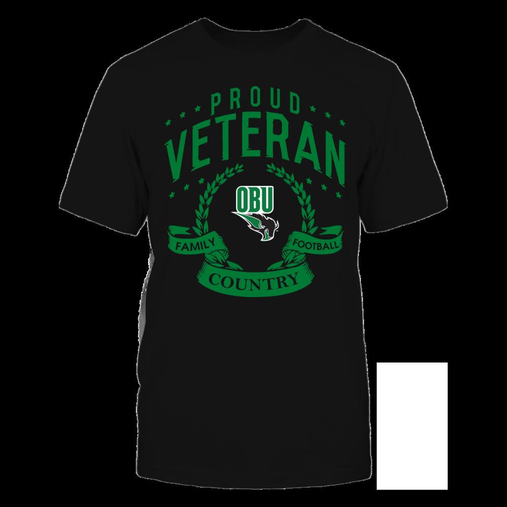 Oklahoma Baptist Bison - Proud Veteran Front picture