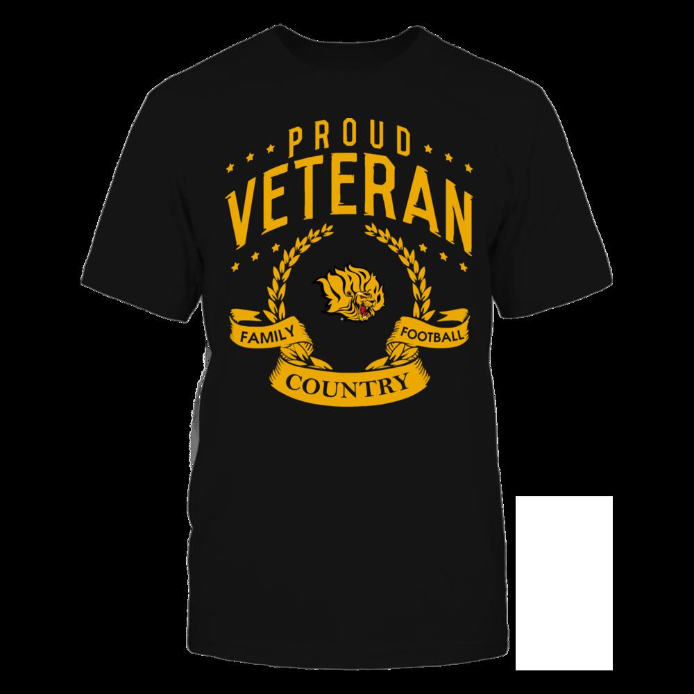 Arkansas Pine Bluff Golden Lions - Proud Veteran Front picture