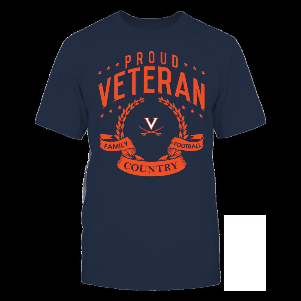 Virginia Cavaliers - Proud Veteran Front picture