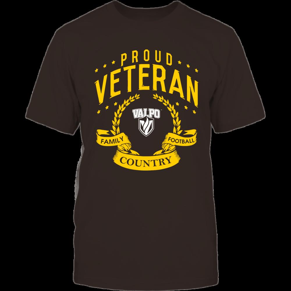 Valparaiso Crusaders - Proud Veteran Front picture