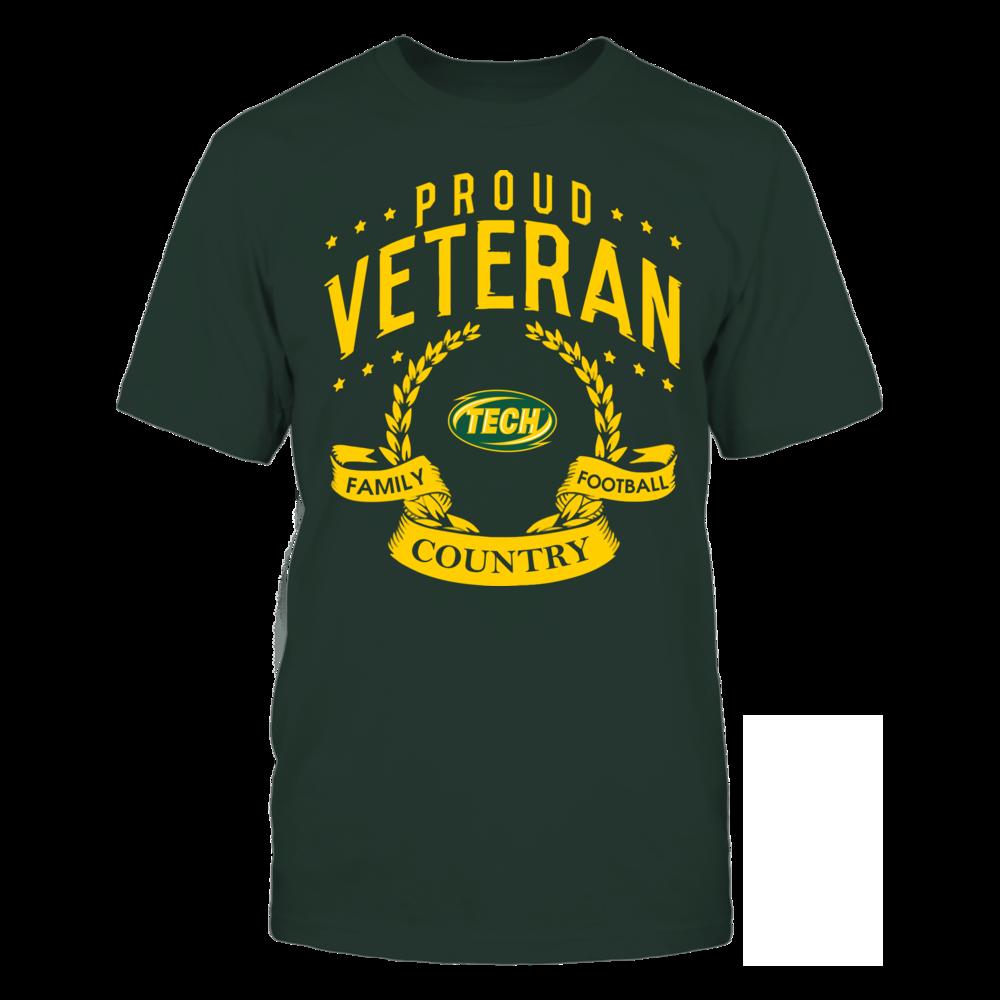 Arkansas Tech Golden Suns - Proud Veteran Front picture