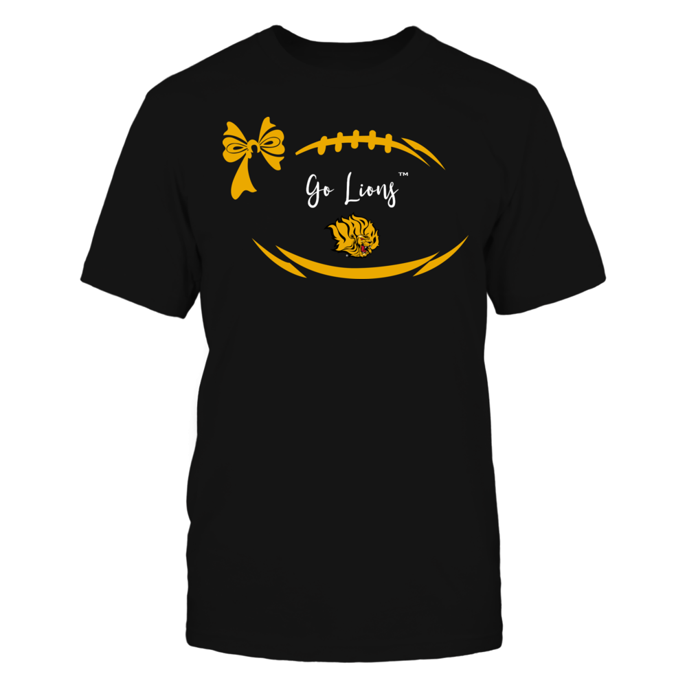 Arkansas Pine Bluff Golden Lions - Football Bow Front picture