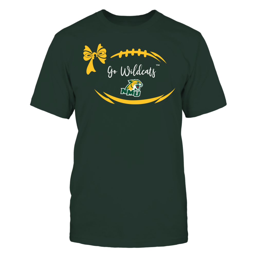 Northern Michigan Wildcats - Football Bow Front picture