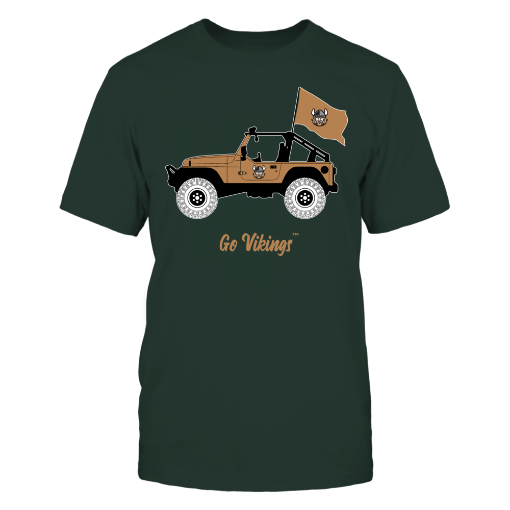Cleveland State Vikings - Jeep Front picture