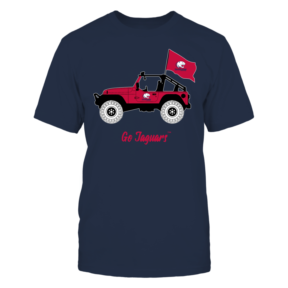 South Alabama Jaguars - Jeep Front picture