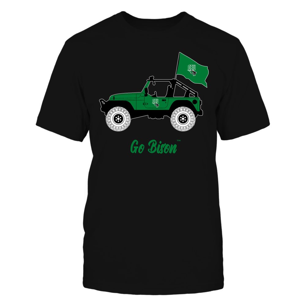 Oklahoma Baptist Bison - Jeep Front picture