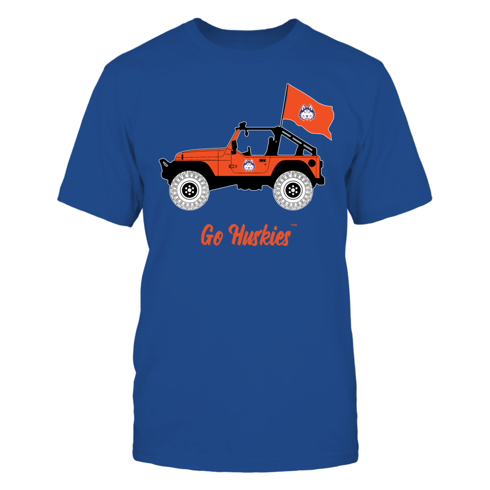 Houston Baptist Huskies - Jeep - Jeep Car - IF-IC13-DS83 Front picture