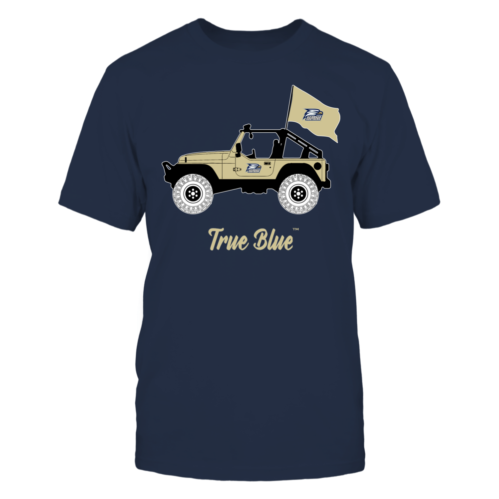 Georgia Southern Eagles - Jeep - Banner - IF-IC13-DS64 Front picture