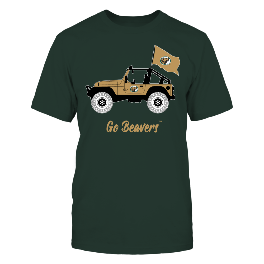 Bemidji State Beavers - Jeep - Banner - IF-IC13-DS63 Front picture