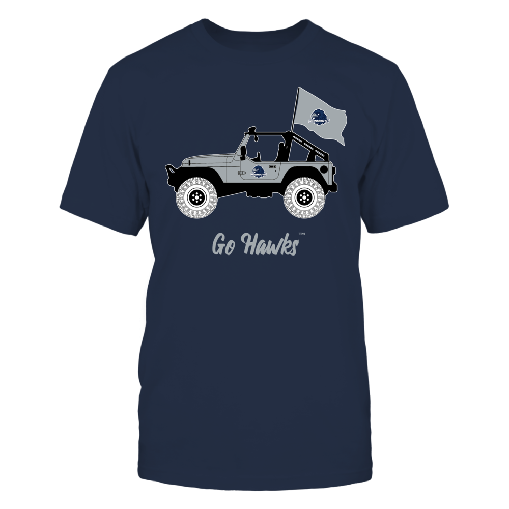 Monmouth Hawks - Jeep Front picture