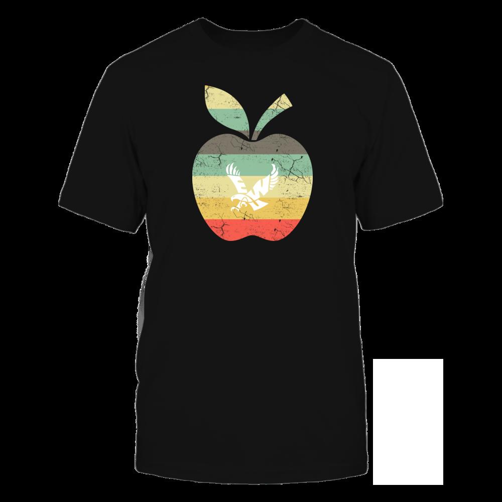 Eastern Washington Eagles - Teacher - Apple Vintage Front picture