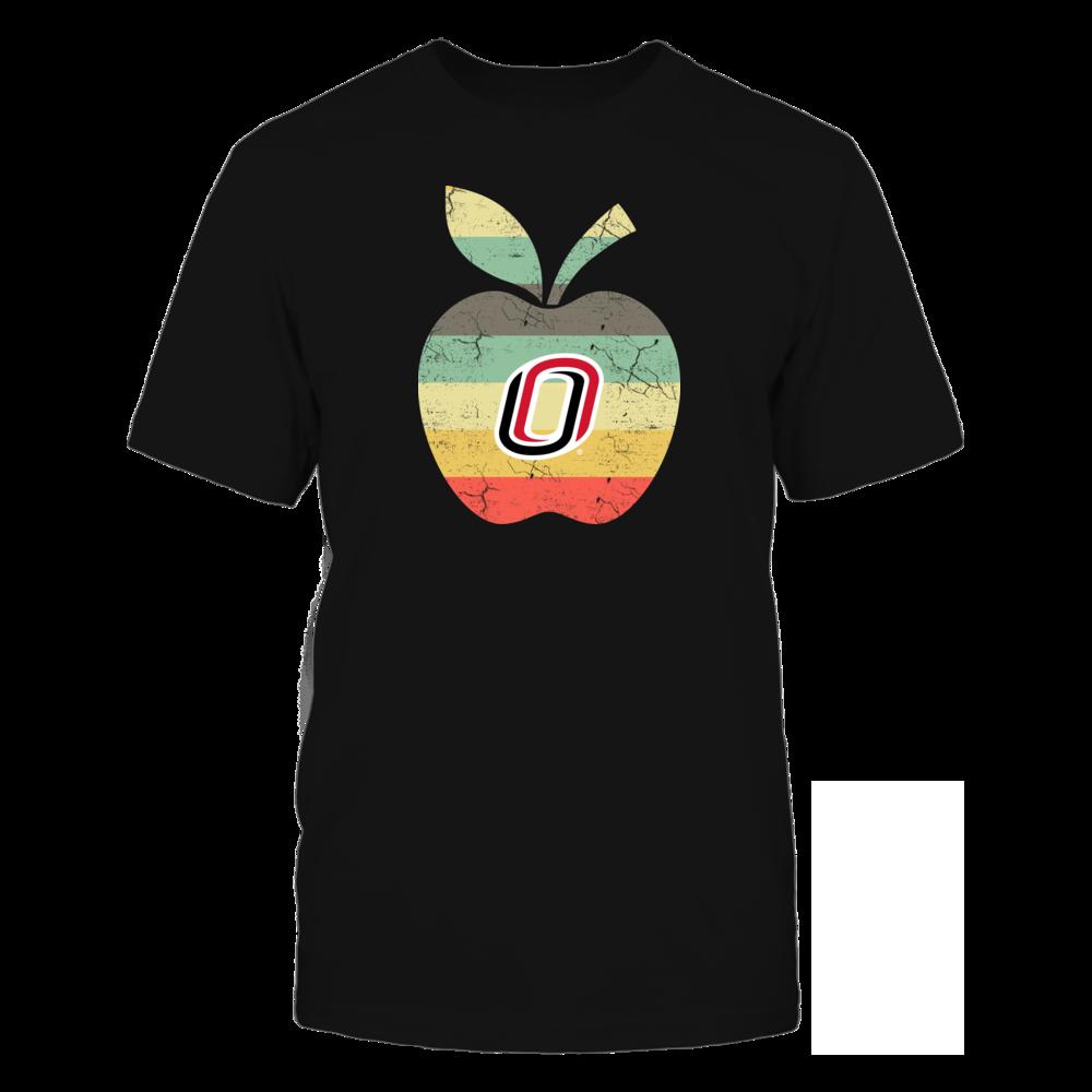 Nebraska Omaha Mavericks - Teacher - Apple Vintage Front picture