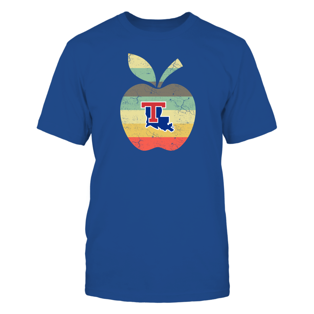 Louisiana Tech Bulldogs - Teacher - Apple Vintage Front picture