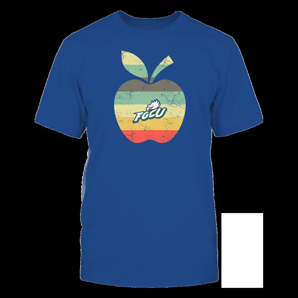 Florida Gulf Coast Eagles - Teacher - Apple Vintage Front picture