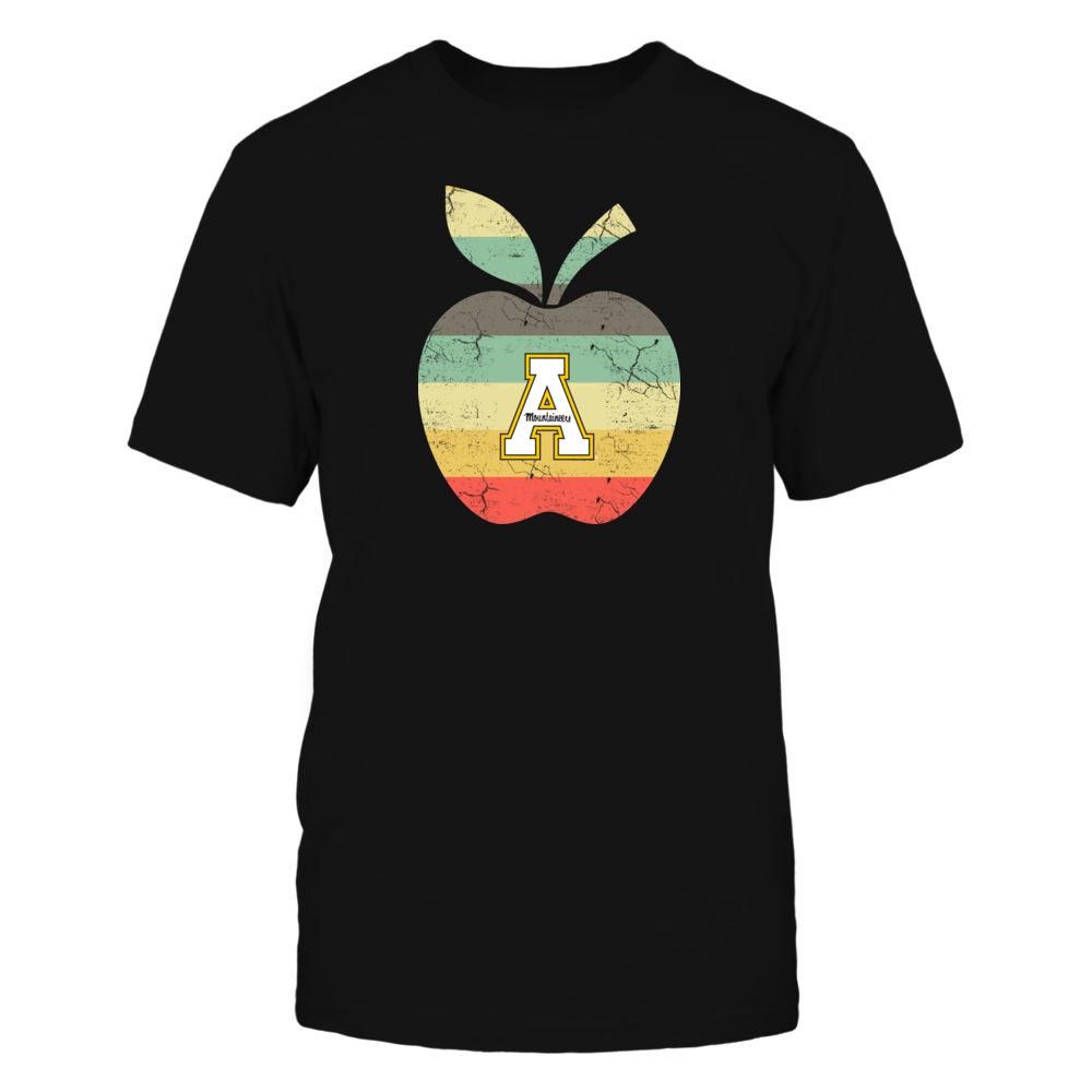 Appalachian State Mountaineers - Teacher - Apple Vintage Front picture