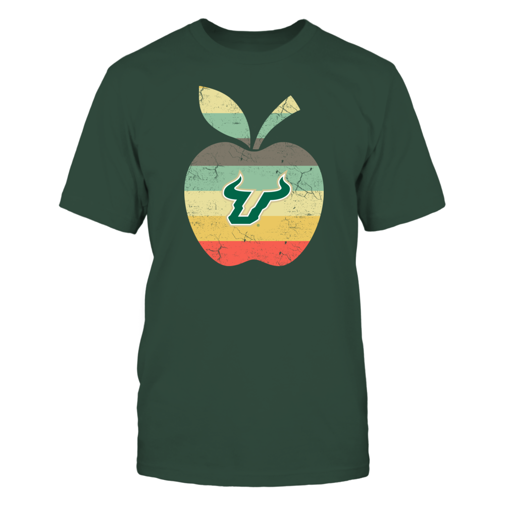 South Florida Bulls - Teacher - Apple Vintage Graphic Front picture