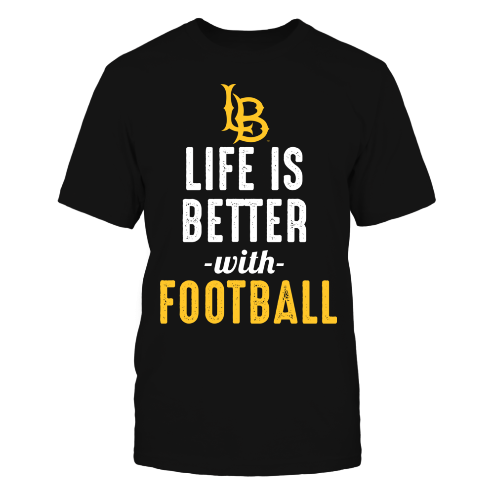 Long Beach State 49ers - Life is Better with Football Front picture