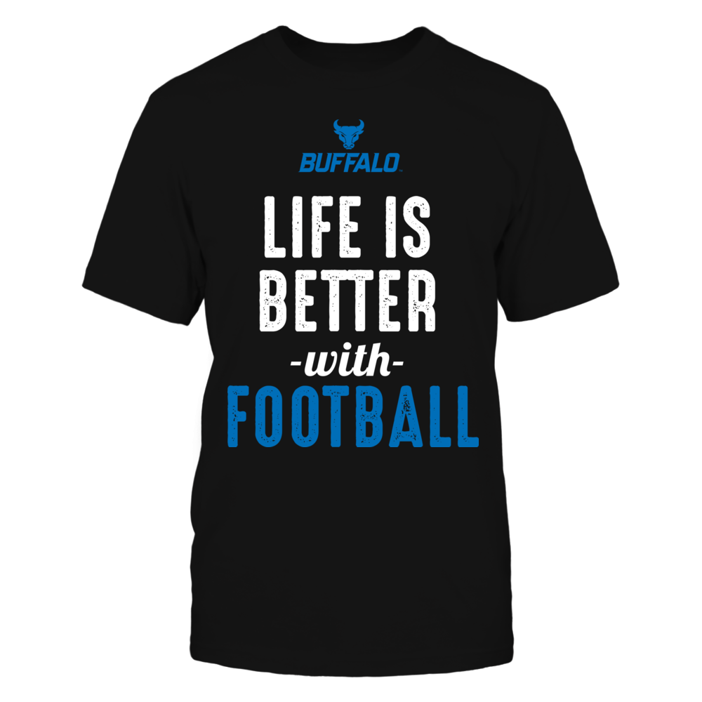 Buffalo Bulls - Life is Better with Football Front picture