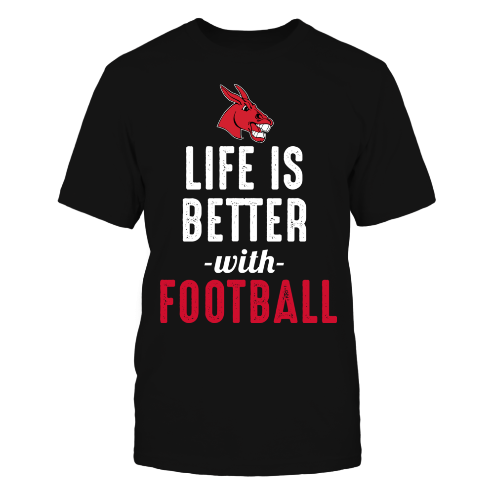 Central Missouri Mules - Life is Better with Football Front picture