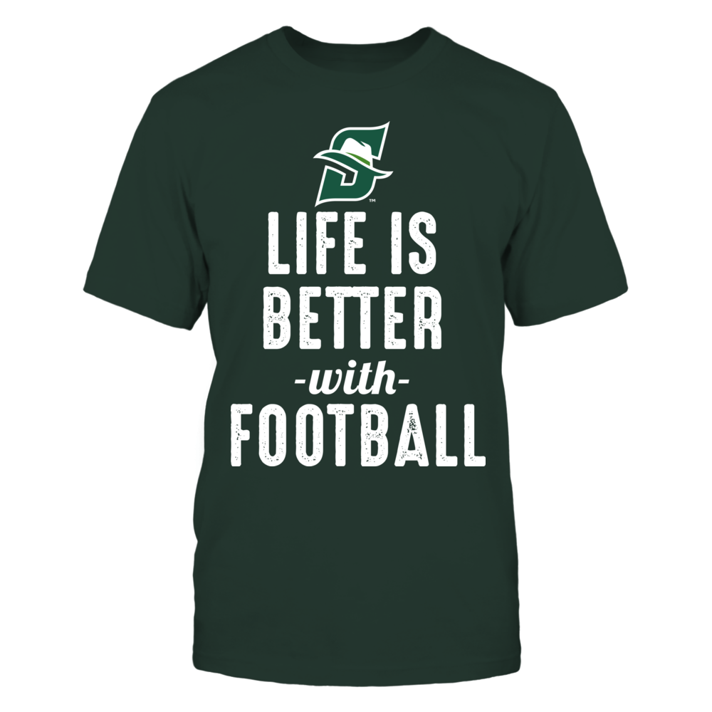 Stetson Hatters - Life is Better with Football Front picture