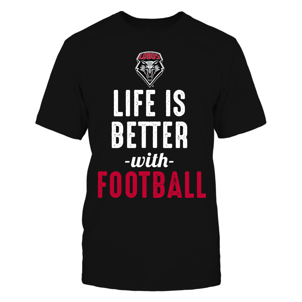 New Mexico Lobos - Life is Better with Football Front picture