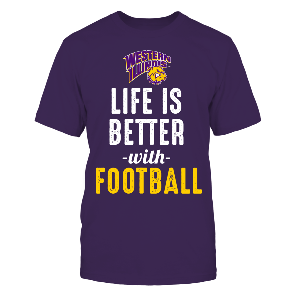 Western Illinois Leathernecks - Life is Better with Football Front picture
