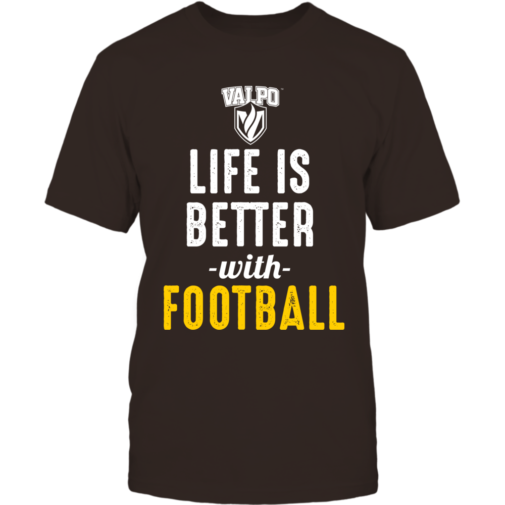 Valparaiso Crusaders - Life is Better with Football Front picture