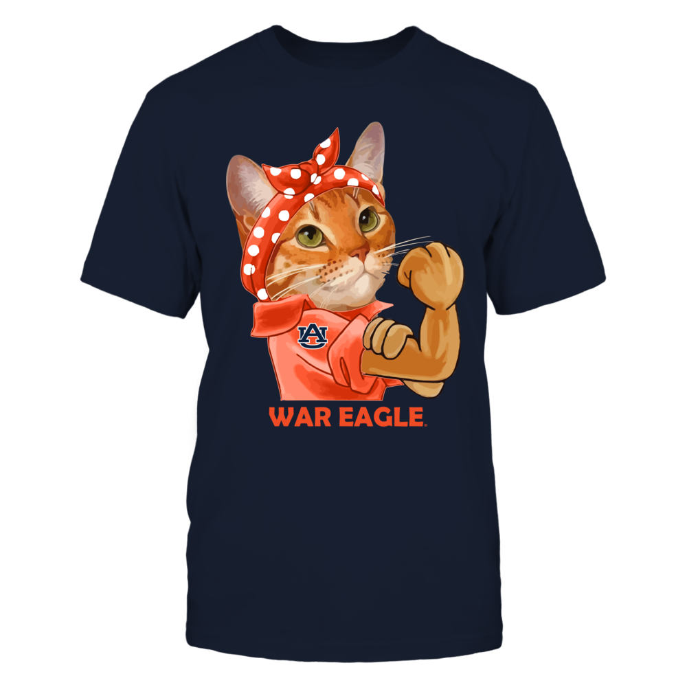 Auburn Tigers - Strong Mascot - Cat Front picture