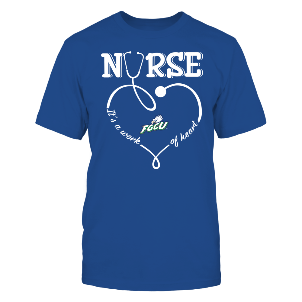 Florida Gulf Coast Eagles - Nurse - Work of Heart Front picture